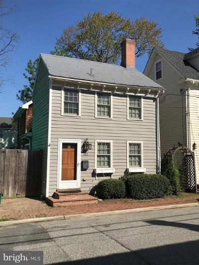 Chestertown Single Family Home For Sale: 112 Kent Street