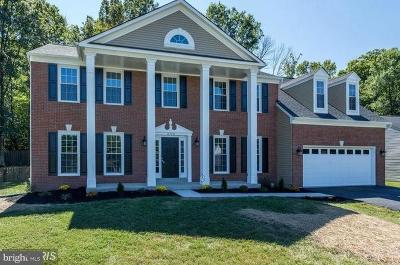 Fairfax Station VA Single Family Home For Sale: $765,000