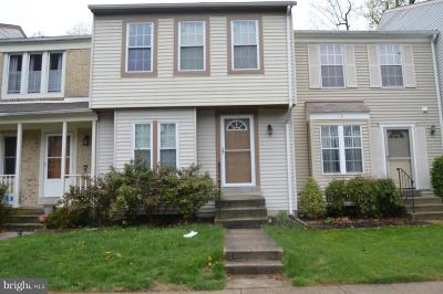 Silver Spring MD Townhouse Active Under Contract: $259,000