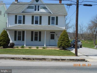 Mercersburg Single Family Home Under Contract: 202 Park Avenue S