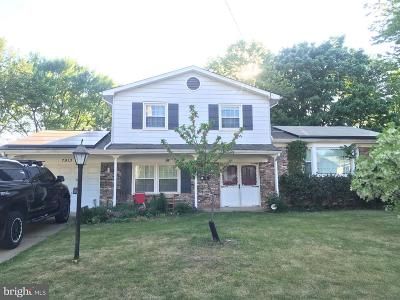 Oxon Hill Single Family Home Active Under Contract: 7913 Esther Drive
