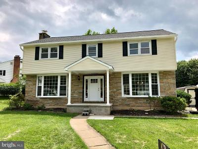 Lutherville Timonium Single Family Home For Sale: 305 Felton Road