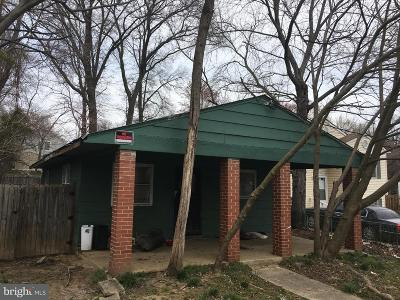 Bowie Single Family Home For Sale: 13010 6th Street