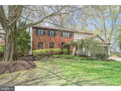 Cherry Hill Single Family Home For Sale: 517 Country Club Drive