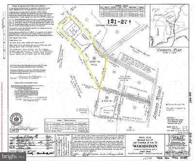 Harford County, Howard County Residential Lots & Land For Sale: 4536 Amoss Road
