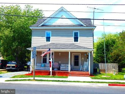 Hurlock Single Family Home For Sale: 206 Broad Street