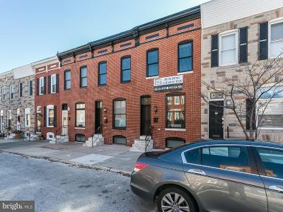 Canton, Canton Company, Canton Cove, Canton East, Canton, Patterson Park, Canton/Brewers Hill, Canton/Lighthouse Landing Townhouse For Sale: 3225 Fait Avenue