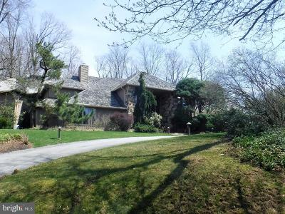 Bryn Mawr Single Family Home For Sale: 900 Roscommon Road