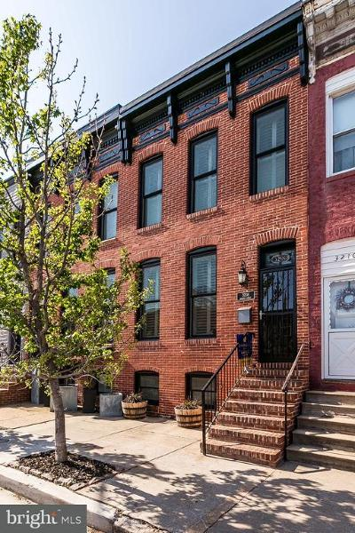 Canton, Canton Company, Canton Cove, Canton East, Canton, Patterson Park, Canton/Brewers Hill, Canton/Lighthouse Landing Townhouse For Sale: 3208 Hudson Street