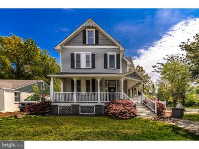Moorestown Single Family Home For Sale: 120 W Central Avenue
