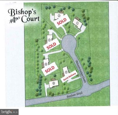 West Chester Single Family Home For Sale: Lot # 6 Bishops Court