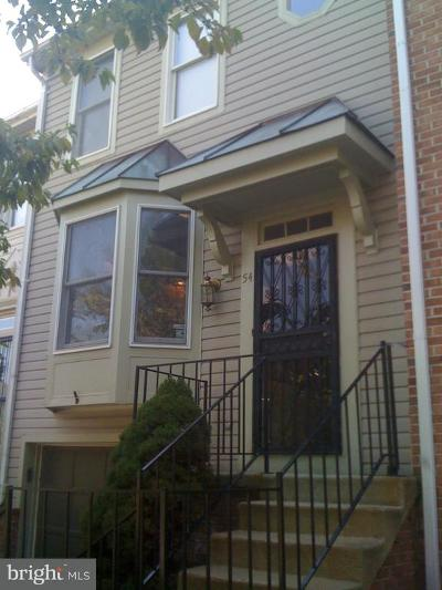 Owings Mills Townhouse For Sale: 54 Championship Court #I-5