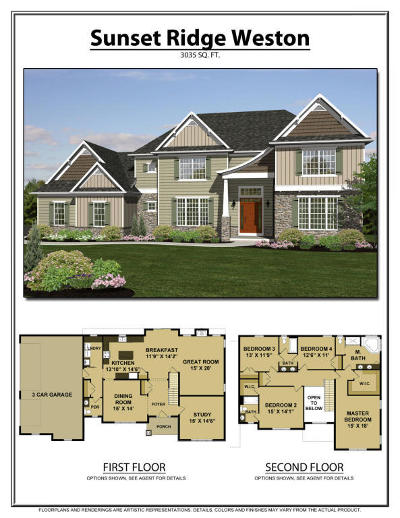 Lititz Single Family Home For Sale: Lot 38 Weston Model