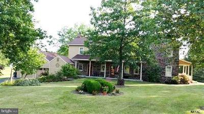 Gettysburg Single Family Home For Sale: 1595 Pumping Station Road