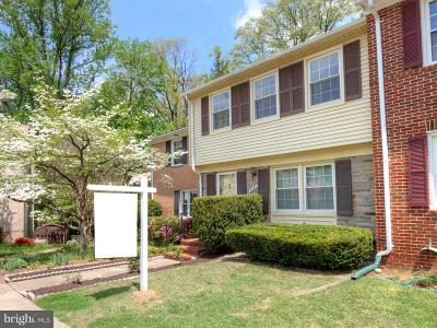 Annandale Townhouse For Sale: 8342 Glastonbury Court
