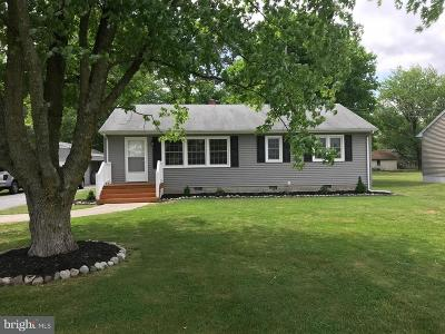 Princess Anne Single Family Home Under Contract: 11956 Crisfield Lane