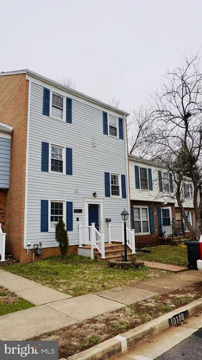 Manassas Townhouse For Sale: 10104 Sabin Drive