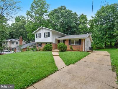 Springfield Single Family Home For Sale: 6522 Bowie Drive