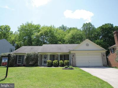 Silver Spring Single Family Home For Sale: 729 Symphony Woods Drive