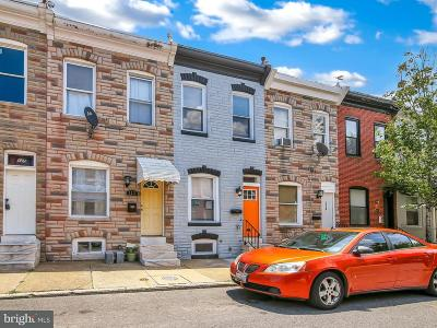 Baltimore Townhouse For Sale: 121 Curley Street