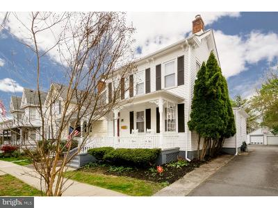 Princeton Single Family Home For Sale: 19 Chestnut Street