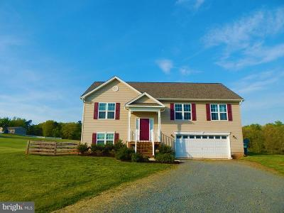Culpeper County Single Family Home For Sale: 10143 Manchester Drive