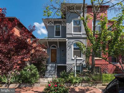 Eckington Single Family Home For Sale: 107 Seaton Place NW