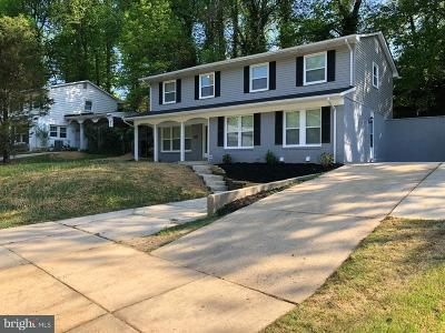 Fort Washington Single Family Home For Sale: 2805 Ivy Bridge Road