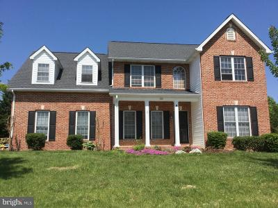 Frederick County Single Family Home For Sale: 102 Julasar Drive