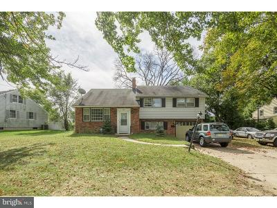 Cherry Hill Single Family Home For Sale: 819 Berlin Road