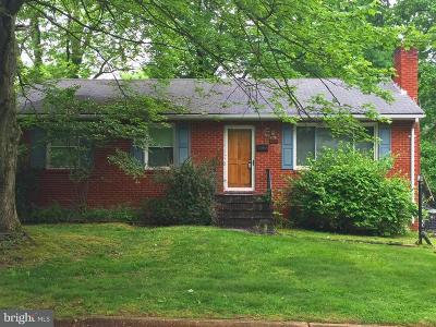 Vienna Single Family Home For Sale: 600 Tazewell Road NW