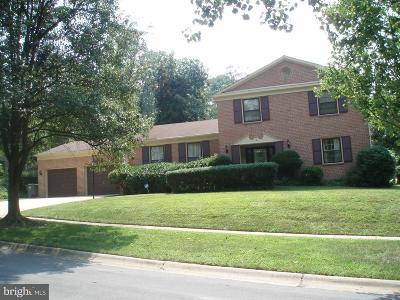 Potomac Single Family Home For Sale: 1 Greyswood Court