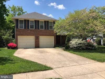 Springfield Single Family Home Active Under Contract: 7628 Gralnick Place