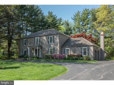 Newtown Square Single Family Home Active Under Contract: 721 Governor Circle