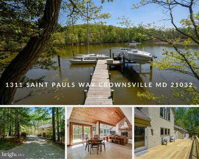 Crownsville Single Family Home For Sale: 1311 Saint Pauls Way