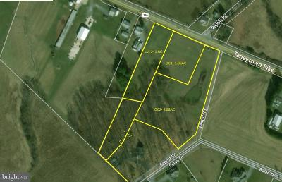 Residential Lots & Land For Sale: Taneytown Pike