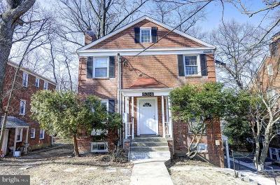Takoma Park MD Single Family Home For Sale: $615,000