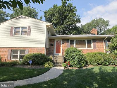 Mc Lean, Mclean Single Family Home Active Under Contract: 1748 Great Falls Street