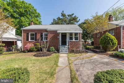 College Park Single Family Home Active Under Contract: 5020 Edgewood Road