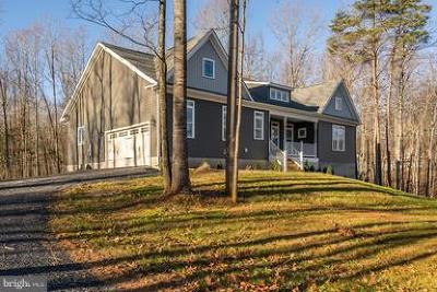 Culpeper County Single Family Home For Sale: Mt Zion Church Road