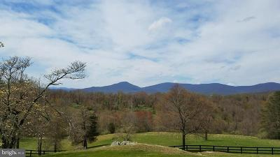 Rappahannock County Farm For Sale: 43 Grunkle Lane