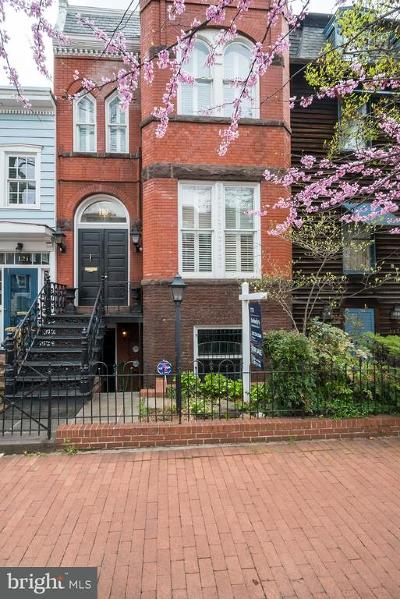Capitol Hill Townhouse For Sale: 119 6th Street NE
