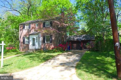 Bethesda Single Family Home For Sale: 5300 Yorktown Road