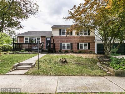 Catonsville Single Family Home For Sale: 1921 Drummond Road