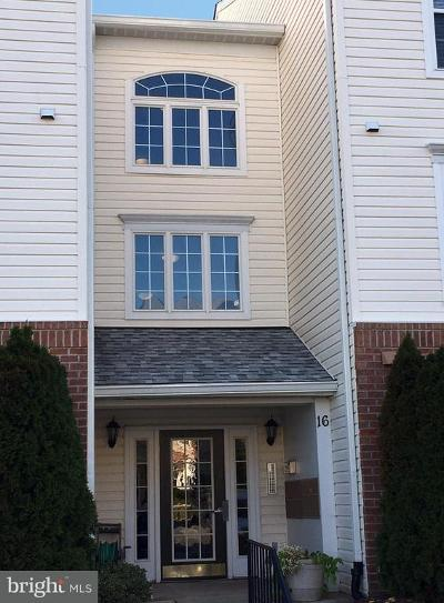 Perry Hall Townhouse For Sale: 16 Brook Farm Court #16B