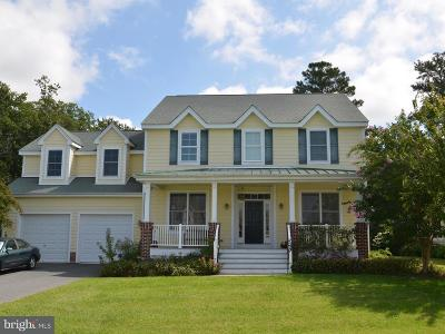 Saint Michaels Single Family Home For Sale: 24989 Back Creek Drive
