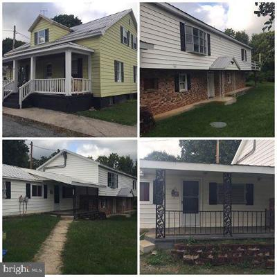 Sharpsburg Single Family Home For Sale: 213 W Chapline Street #A, B, C,