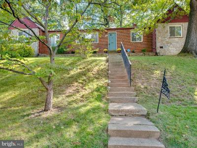 Cheverly Single Family Home Active Under Contract: 2501 Lake Avenue