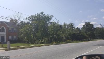 Fort Washington Residential Lots & Land For Sale: 9637 Fort Foote Road