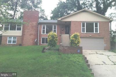 Temple Hills Single Family Home For Sale: 2420 Foster Place